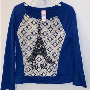 Justice Eiffel Tower Top size 7